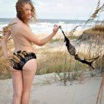 OutdoorAmericanFlagBoudoirPhotography